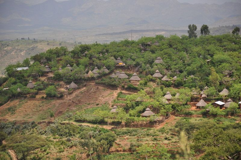 Image result for Konso Cultural Landscape  picture