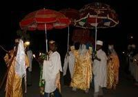 Procession in the  honour of Saint Mary