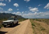 On the road in southern Ethiopia from Arba Minch to Turmi